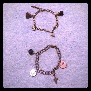 Jewelry - Bundle: 2 diffuser charm bracelets
